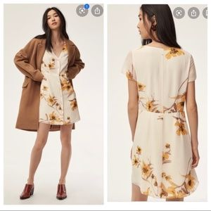 ARITZIA WILFRED NAZAIRE FLORAL DRESS